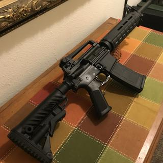 This build came in more expensive because I luv magpul upgrades
