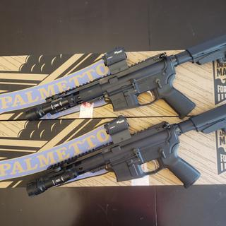 His and hers 300 blackout pistols
