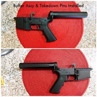 Assembled Pistol Lower