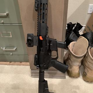 PAS AR9 with sight combo