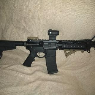 Easy to assemble have ran about 2000 rounds thought it no malfunctions