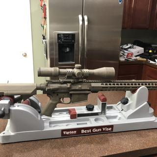 Magpul FDE furniture and smooth EPT trigger was included with the purchased lower.