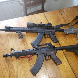 With its carbine big brother