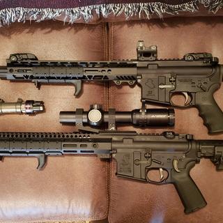 Top Pistol build