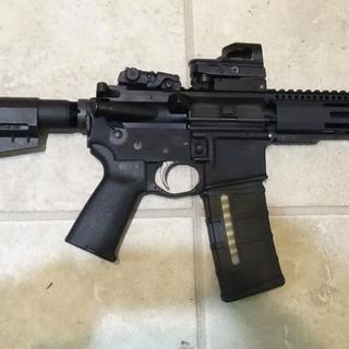 """PSA Stealth lower topped with a Radical Firearms 7.5"""" pistol upper"""