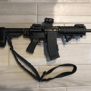 "7.5"" pistol."