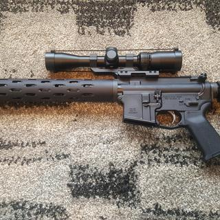 Tested out my lower with my dedicated 22lr upper. Lower will be used for a PSA 300 Blackout upper.