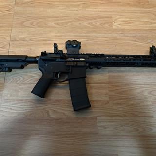 Palmetto pistol build kit, with Sig 5 Romeo