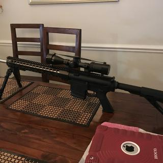 Ready to get out there. Solid rifle.