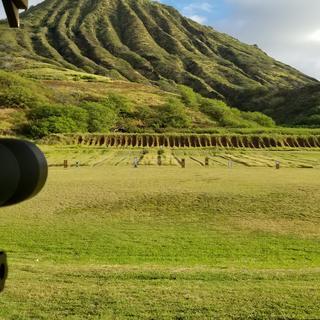 Koko Head Shooting Range located on the island of Oahu.