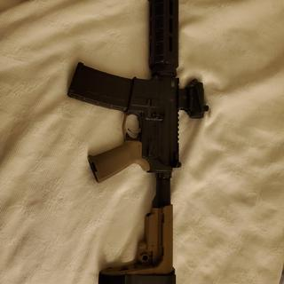 Put the charging handle and bolt on this gun, all palmetto parts..run good 300 rd all went bang!!