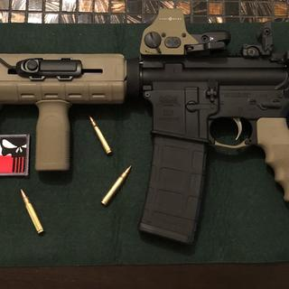 Added a few accessories to it. Very well made Ar 15. A+++
