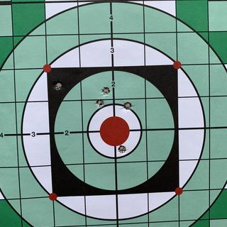 Wolf 100 grain - 5 shot group at 100 yards