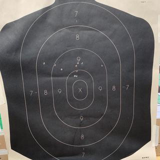 Wolf 100 grain - 10 shot group at 200 yards
