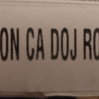 Not on California DOJ Roster