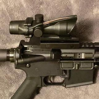 Added a fake ACOG ... actually works pretty good.