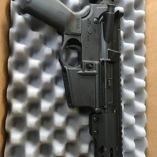 """18"""" 223 Wylde attached to a Spikes Tactical Lower."""