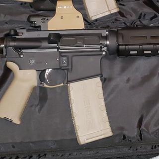 "PSA complete pistol lower w/ 7"" PSA Marauder upper."