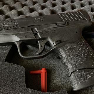 Black Walther PPS M2 Pistol   9mm Handgun   Palmetto