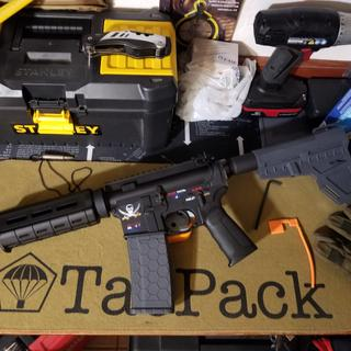 """Lower parts kit on Spike's Tactical Lower with PSA """"Marauder"""" upper"""