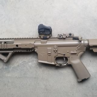 Awesome kit completed my AR pistol build nicely