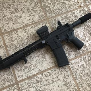 Mated with an Anderson lower. Been flawless.