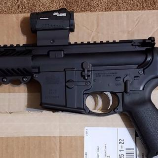 "The PSA MOE EPT SBA3 lower paired with a PSA 8.5"" upper, 300AAC BO, Sig Romeo 5"