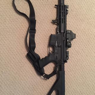 Put this on an Anderson lower and it works flawlessly. Have shot hundreds of steel cased rounds.