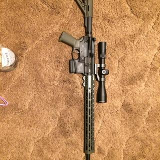PSA 20'' Rifle Length 5 56 1/7 Melonite A2 Barrel