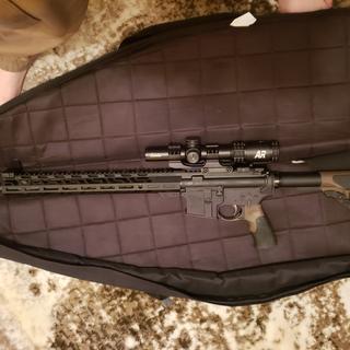 Cabelas 1-6 power AR scope