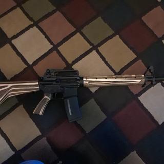 "PSA 20"" Upper, PSA Lower, Boyds stock. My new favorite rifle!"