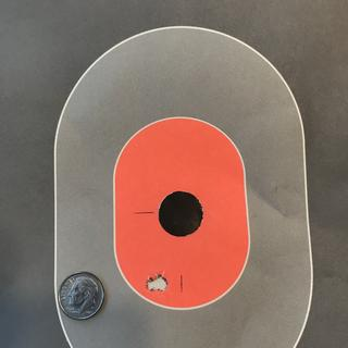 I wanted to shoot a very careful group at 25 yards to zero the red dot. The result amazed me!