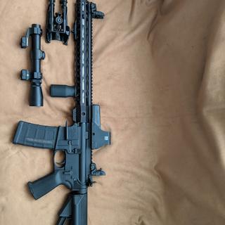 Three gun ready