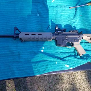 Used this stock psa freedom rifle .556 with 1/7 twist with no magnification reflex sight.