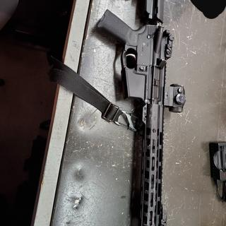 Put it through a drag test to check the sights and optic durability. Rifle is functionally fine.