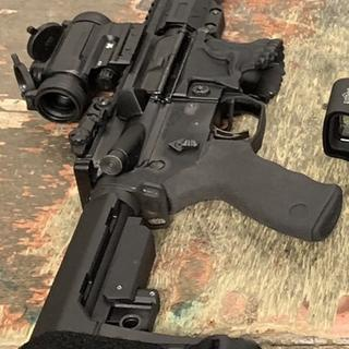 This is my AR PISTOL with Palmetto upper !