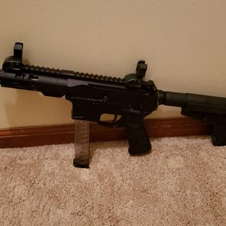This upper and lower was a great build for the price!!!