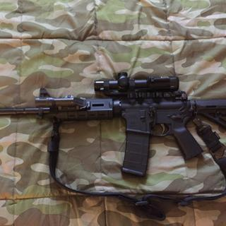 """Purchased this PSA 16"""" Freedom rifle MOE. Already added a few necessities."""