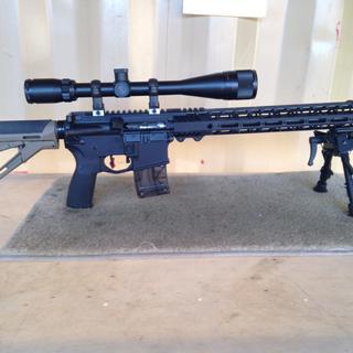 PSA 22lr Upper on standard AR Lower