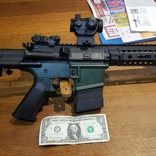 Havent had a chance to shoot it yet.  Mounted on my 80 percent lower. Cant wait.