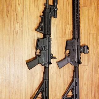 Top rifle topped the PSA lower off with a BCA 450BM upper