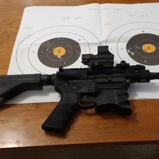 PSA 9mm pistol with SB tactical SOB brace