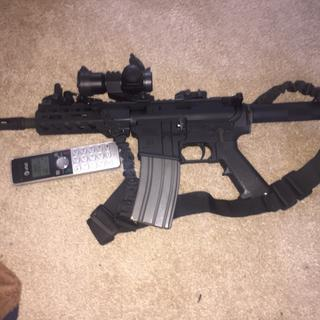 Finished product from the build