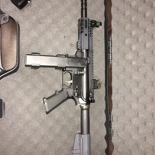 PSA 9mm Classic Colt©-Style Pistol Lower, Black