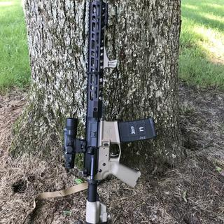 Built it as a 2 Tone. Great rifle.