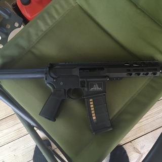 100% PSA parts with Magpul grip & trigger guard.