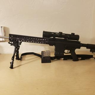 I assembled an AR-65CD (6.5 Creedmoor upper) with this AR-10 lower receiver. It is a joy to shoot.