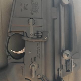 Addition: Carry handle, BAD lever, and enhanced trigger (by PSA) make it a looker.