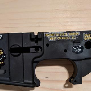 SNEK-15 Lower Receiver (left side)