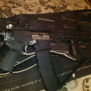 5.56 10.5in AR Pistol